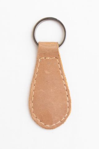 Leather Key Fob, Natural