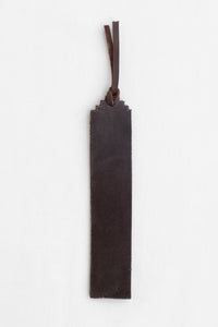 Leather Bookmark, Cocoa
