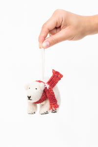 Isimbi Polar Bear Ornament