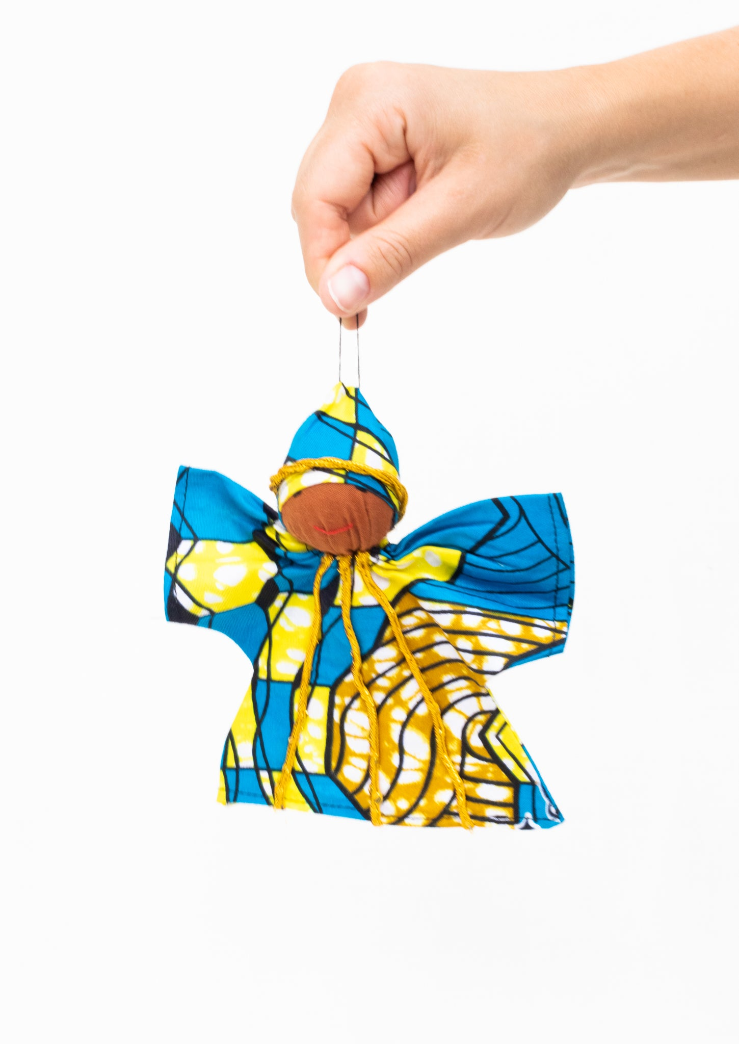 Kitenge Angel Ornament, Alexandrite
