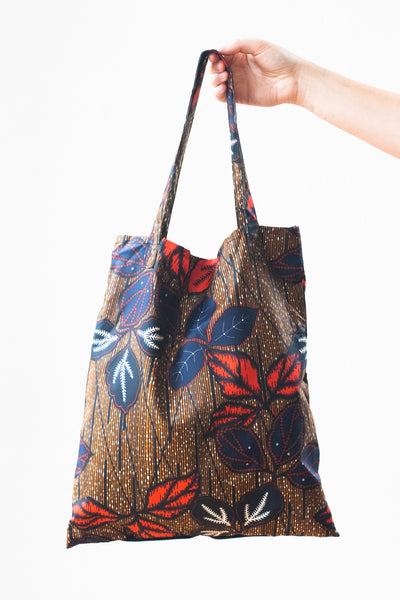 Expandable Heart Tote, Fall Garden