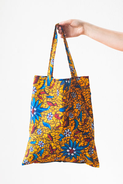 Expandable Heart Tote, Sunset