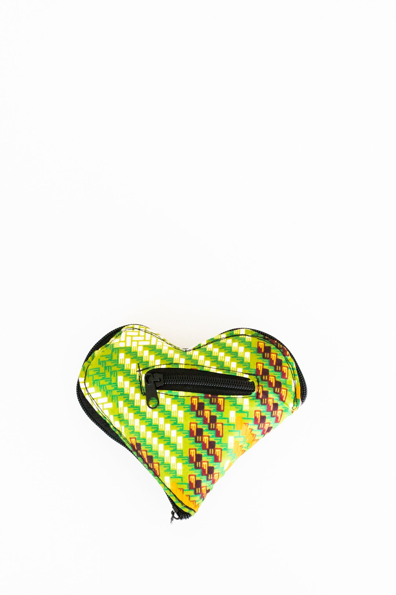 Expandable Heart Tote, Grasshopper