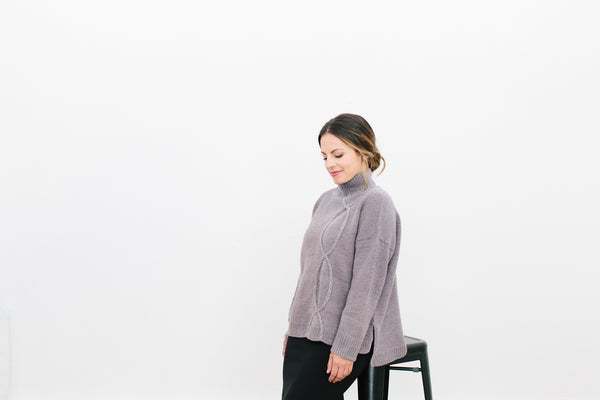 Mizero Sweater in Organic Merino