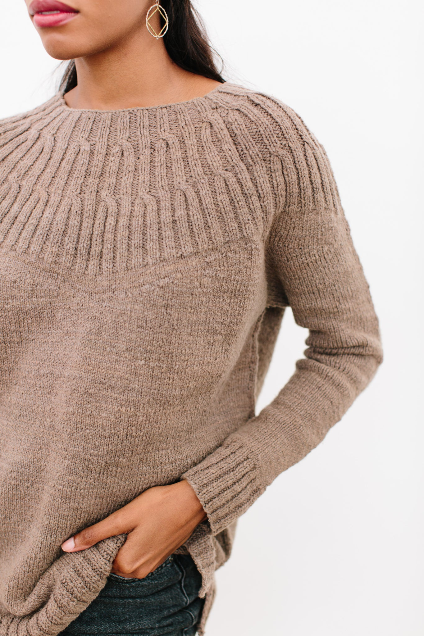 Virginie Sweater in Organic Merino