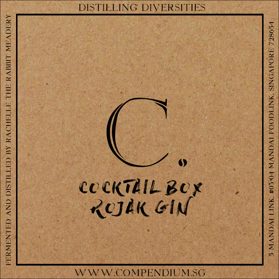 Cocktail Box (Rojak Gin)