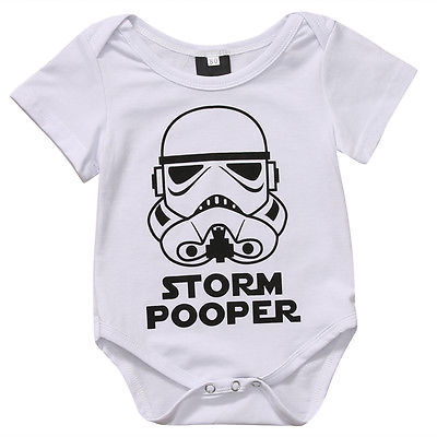 Storm Pooper Onesie - Ball Earrings General Store