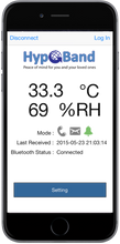 HypoBand 1.0 ANDROID ONLY (OS 4.4 to 7.0)