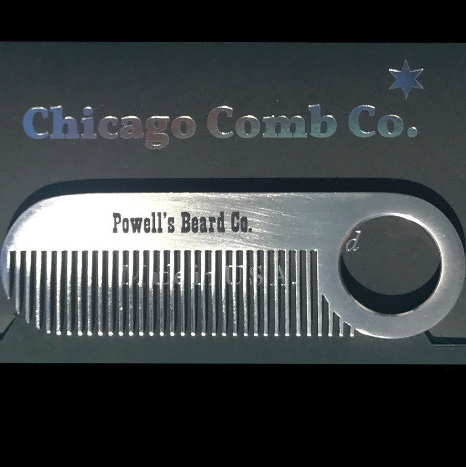Beard Comb by Chicago Comb Co.