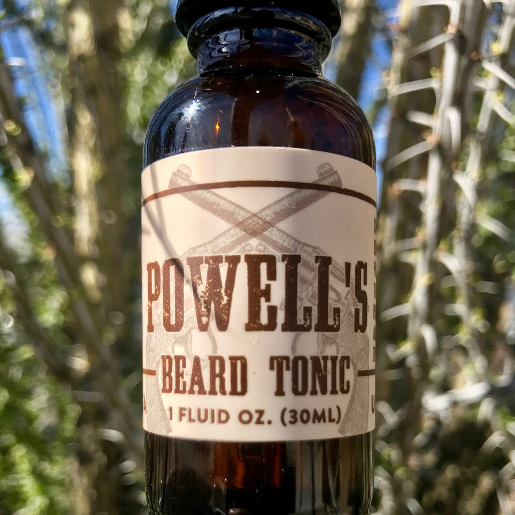American-made Beard Oil