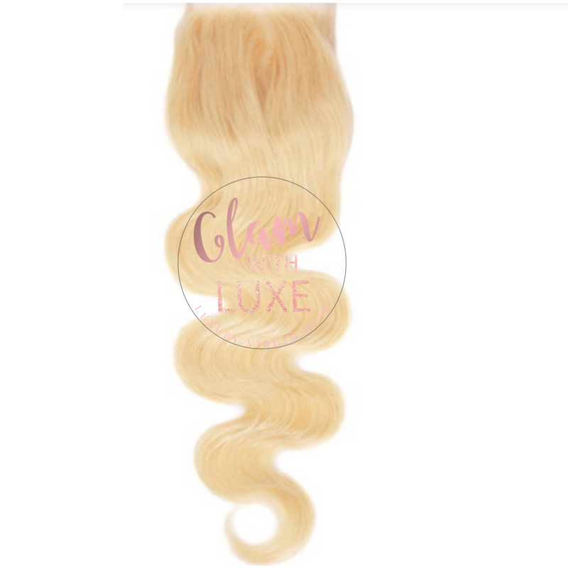 Barbie Blonde - Brazilian Body Wave Closure