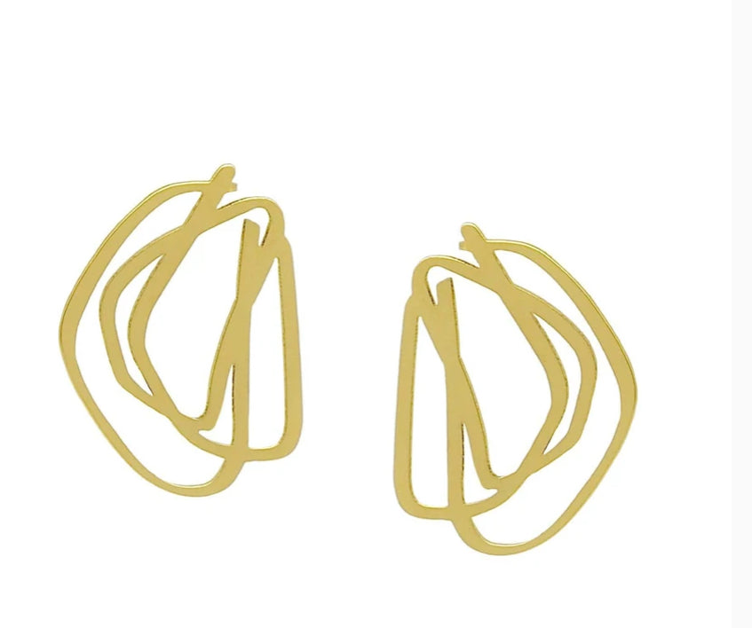 INSYNC Design Loop Earrings