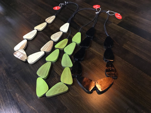 Namastai Wooden Necklace