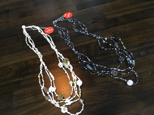 Namastai Fine 3 Strand Bead Necklace