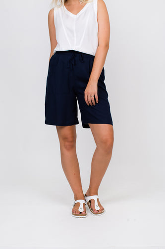 Namastai Navy Shorts