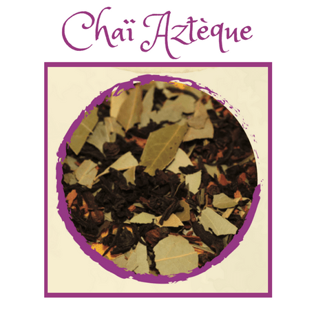 Mex Tea Herbs - Thé Tisane Aztèque - Tea Herbal tea - Chaï Aztèque