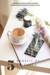 Benefit of Relaxing & Calming Lavender Tea