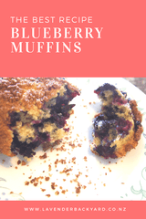 Baking Recipes | The Best Blueberry Muffins Recipe You Need to Try