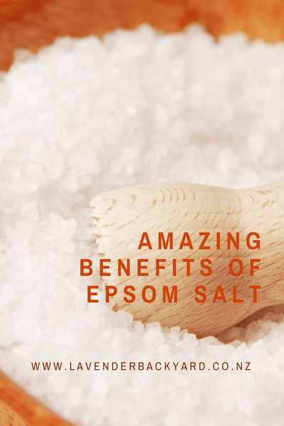 Amazing benefits and uses of epsom salt, NZ Lavender Epsom Salts for Bath helps you relax and sleepwell.