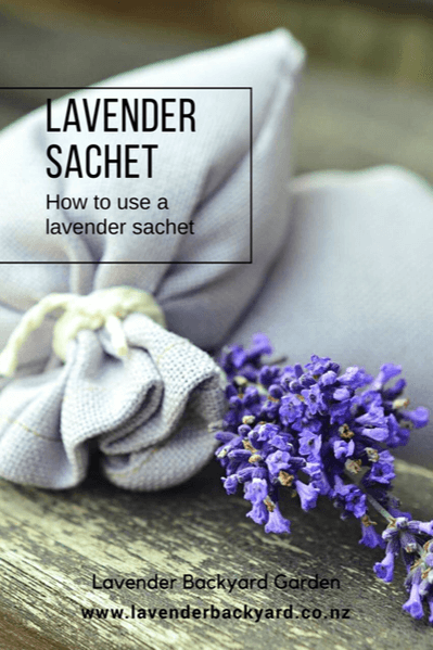 Best Scents: How to use a lavender sachet, Lavender Backyard Garden, New Zealand Lavender Farm