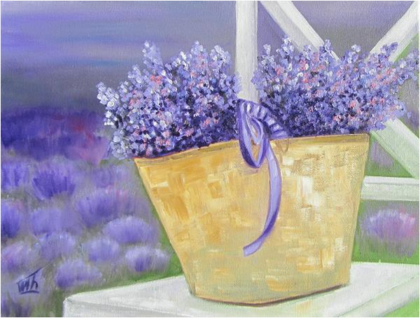 Bouquet of Lavender for Beloved by Ira Whittaker. NZ Lavender Farm