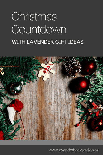 Christmas Countdown Lavender Christmas Gifts Guide Nz