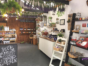 Country Little Shop at Lavender Backyard Garden, NZ Lavender Farm