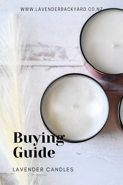 Lavender Scented Candle Buying Guide