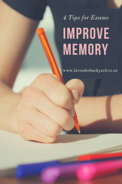 Before exams-4 tips to improve memory, Lavender Backyard Garden, NZ Lavender Farm