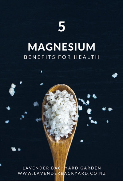 Top 5 Health Benefits of Magnesium from NZ Herb Farm