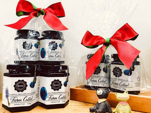 Whole Fruit Blueberry Jam (Twin Pack) - Christmas Edition