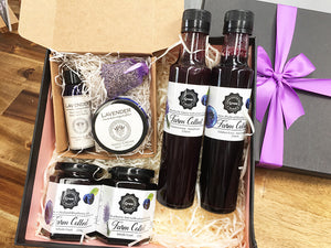 Blueberry and Lavender Gift Box/Gift Ideas from NZ blueberry and lavender farm.