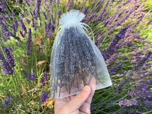 Dried Lavender Sachet - Dried Flower Heads