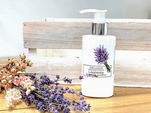 English Lavender Silk Lotion, Lavender Backyard Garden NZ