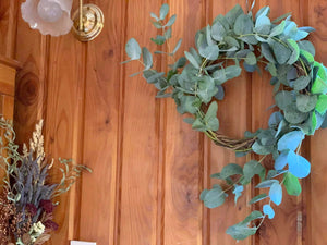 Dried Eucalyptus Wreath - Medium
