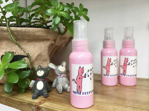Girls Natural Perfume from NZ Lavender Herb Farm, Lavender Backyard Garden