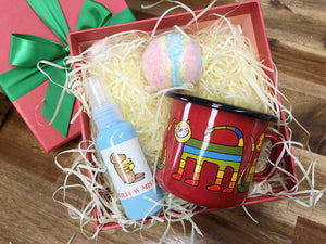 Sleepytime Sleepwell for Kids Gift Box from NZ Lavender Farm, Lavender Backyard Garden