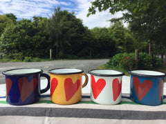 Toddler Enamel Mug - Heart