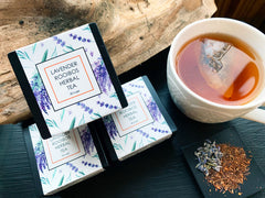 Lavender & Rooibos Herbal Tea - Loose Leaf