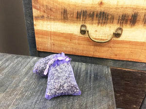 Lavender Dried Flower, Lavender Sachet for Wardrobe from Lavender Backyard Garden NZ