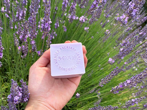 Made in NZ Lavender Products: Lavender Goat Milk Handmade Soap