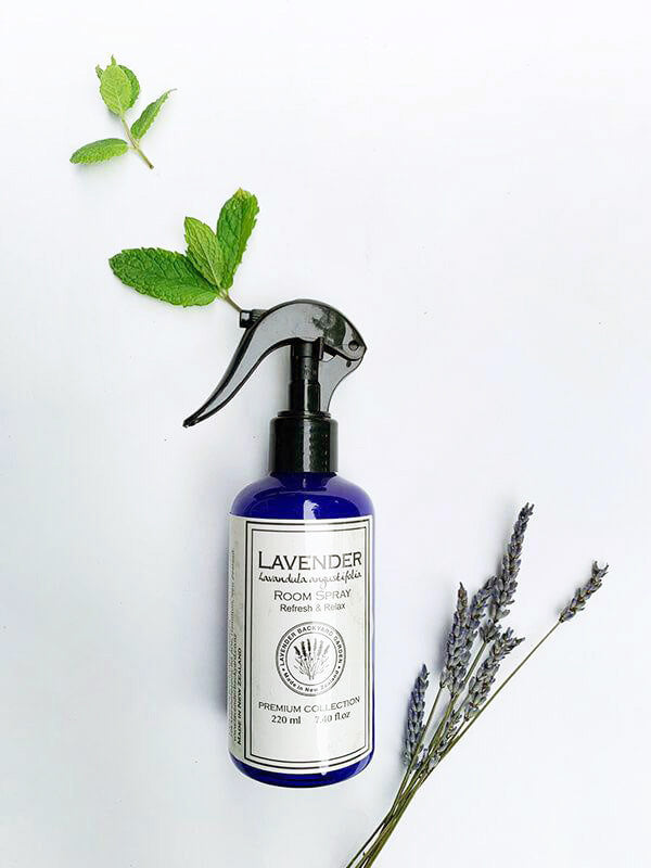 Lavender Mint Room Spray Air Freshener Home Fragrance, Lavender Backyard Garden
