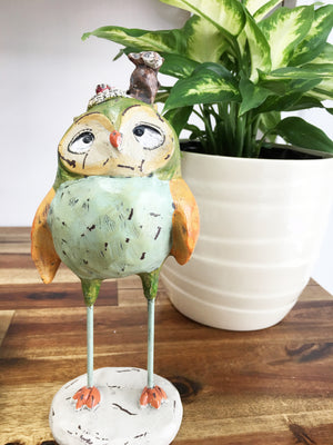 Owl Monkeying Around