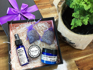 Summer Personal Care Lavender Gift Box from New Zealand Lavender Farm