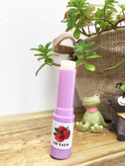 Raspberry Natural Lip Balm, Lavender Backyard Garden, NZ Lavender Farm