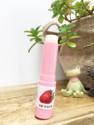 Open image in slideshow, Natural Flavored Shea Lip Balm