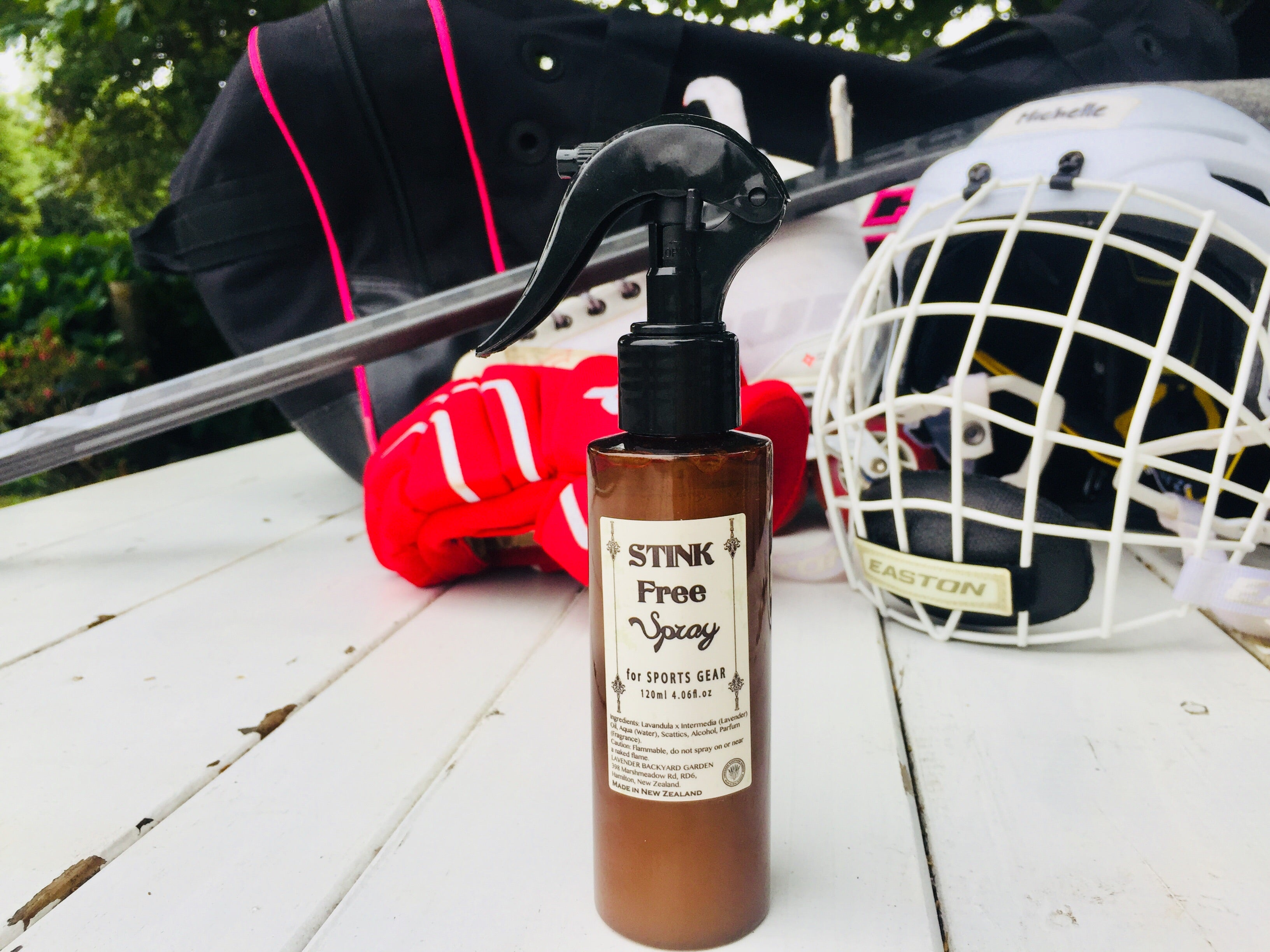 NZ Lavender Products: Stink Free Spray for Sports Gear