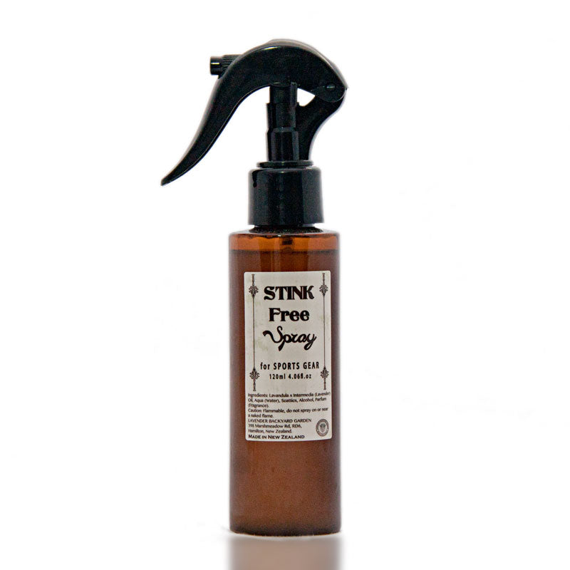 Lavender Products: Stink Free Spray for Sports Gear from New Zealand Lavender Farm