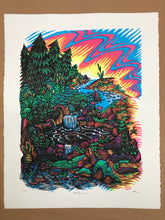 """Hot Spring"" silkscreen edition"
