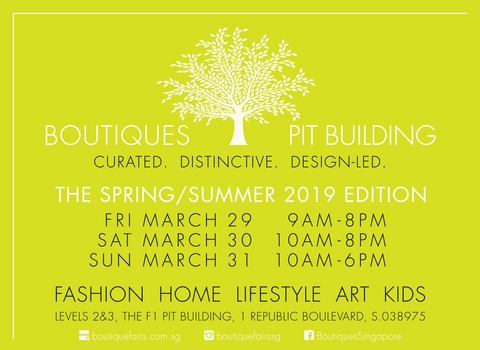 SAVE THE DATE! Soapnut Republic will be at Boutiques at The Pit Building, Mar 29-31
